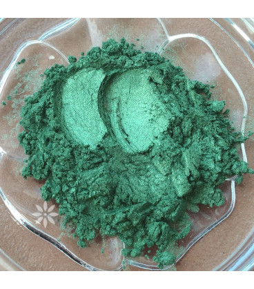 Green 84 Pearl Cosmetic Pigment, 3 gr