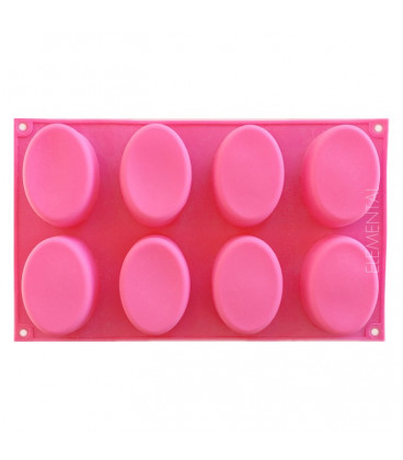 Soap mold, Oval