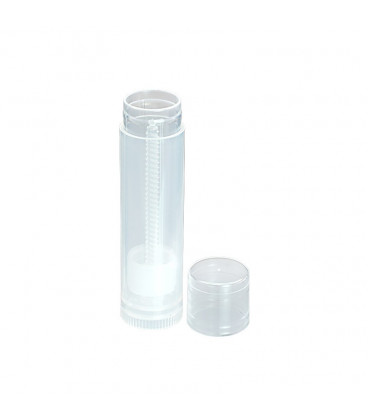 Lipbalm tube, translucent, 6 ml