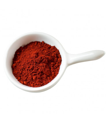 Red hydrophilic cosmetic pigment
