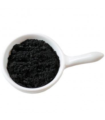 Black hydrophilic cosmetic pigment