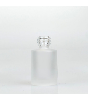 Glass bottle Laura Frosted, 15 ml