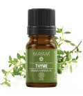 Thyme Organic pure essential oil, Ecocert / Cosmos