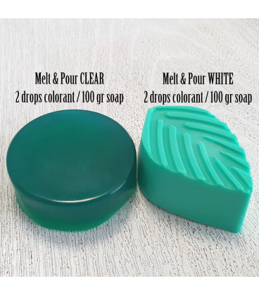 Green soap colour