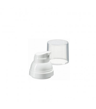 Pump and cap for Oly Airless bottles