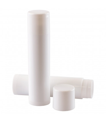 Lipbalm tube white 6 ml