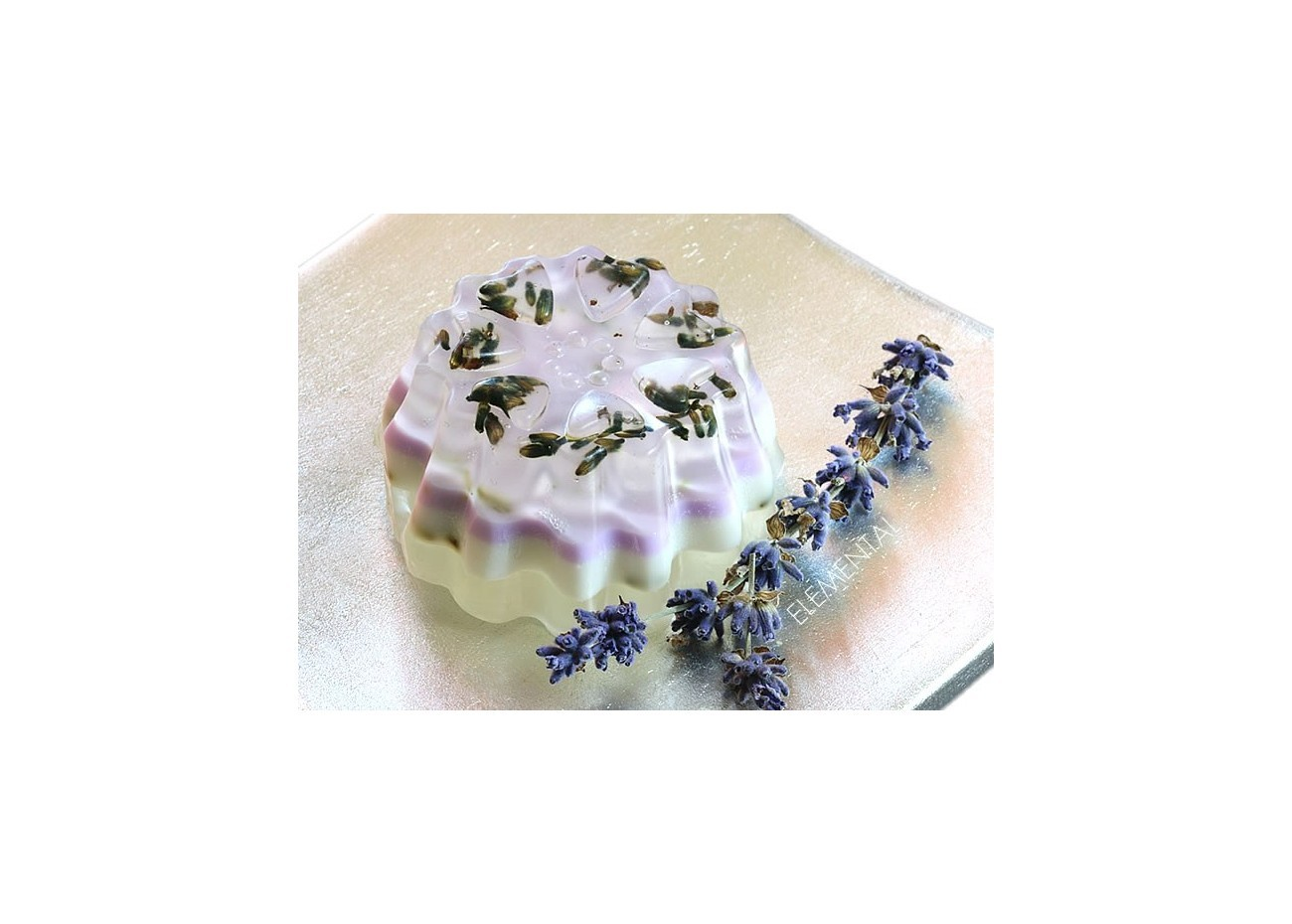Layered Soap, Lavender & Lilac