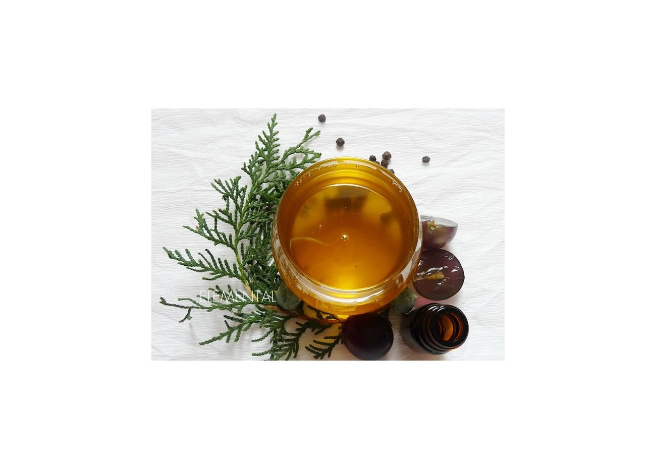 Massage oil for heavy, painful legs with poor circulation