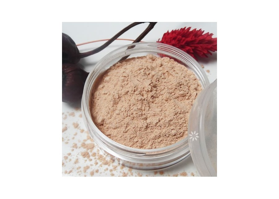 Powder for skin care and protection