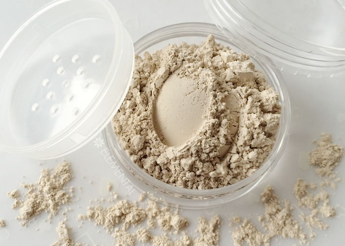 """Matte finish"" powder for oily skin"