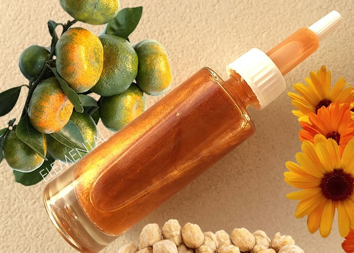 """After-sun"" body oil"