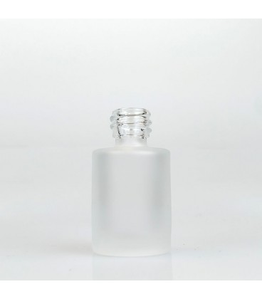 Flacon sticlă Laura Frosted, 15 ml