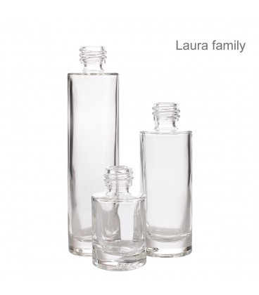 Flacon sticlă Laura, 30 ml