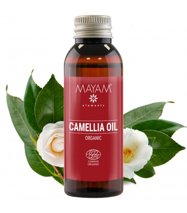 Ulei de Camelia BIO, virgin, 50 ml