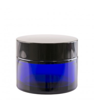 Borcan sticlă Ele Blue, 50 ml