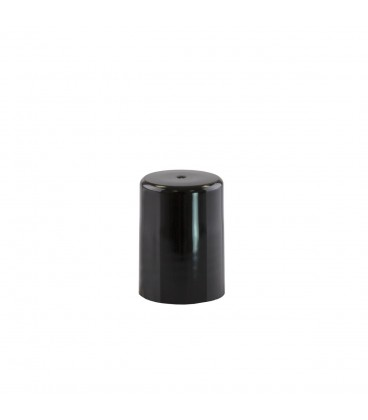 Capac negru pentru recipiente Roll-On mini de 10 ml