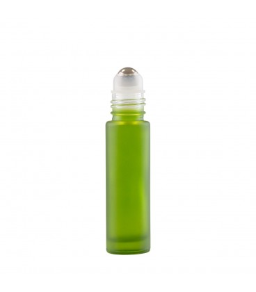 Bază Recipient Roll-On mini sticlă Verde mată 10 ml